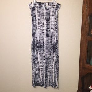 Dresses & Skirts - Patterned maxi skirt- comfy and flattering
